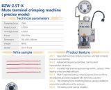 Bzw-2.5t-X Bozwang elektrisches Kabel-Terminalfalz