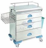 AG-At019 с вагонеткой лекарства стальной рамки толщины 1.2mm