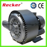 15HP Ce, grandes bomba de vácuo do ar do fluxo de ar ISO9001/ventilador do anel/compressor do anel