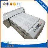 Multipropósito impresión digital de inyección de tinta UV de la máquina impresora plana UV para la impresión de cristal de madera