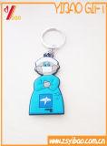 Keychain caliente Keyholder Keychring del PVC 2.o y de goma de la venta de Customed para el regalo (YB-HD-124)