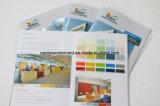 Brochure de décoration professionnelle de revêtement de construction