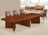 Antique Design Office Furniture Mesa de conferência em madeira sólida