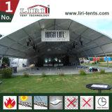大きいコンサートのための巨大なカーブの構造の玄関ひさしのテント