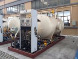 Estación de llenado de gas (GLP skid) Venta caliente en el 2018