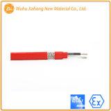 Cavo di riscaldamento costante del circuito parallelo di wattaggio del rivestimento del Fluoropolymer con Iece Atex