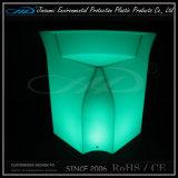 PET materielle nachladbare Möbel 16 Farben-LED für Stab-Gaststätte