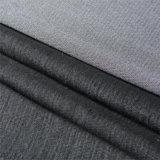 Trama de inserción tejida fusible bi-estiramiento entrelazado para trajes