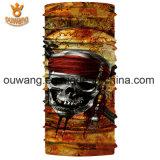 Fait dans le Bandana multifonctionnel extérieur de crâne de polyester bon marché de la Chine