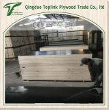 Madera contrachapada hecha frente laminada cubierta película de la madera contrachapada del recubrimiento para la construcción/el encofrado concreto