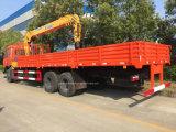 6X4 210HP는 기중기로 화물 트럭 10 톤 거치했다