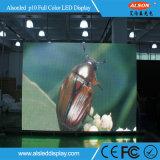 Крытая индикаторная панель полного цвета СИД SMD3528 P10 для рекламировать