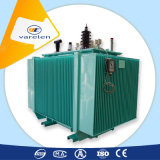 transformateur d'alimentation 1500kVA triphasé immergé dans l'huile avec l'enroulement de cuivre