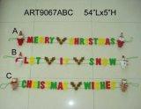 Weihnachtsdekoration, Sankt-Schneemann-Elf-Modell mit den Streifen-Beinen 3asst