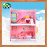 Happy Pet Strong Enough Eco Board Animais pequenos Double Cage com Decoração Habitat de pequenos animais para Gerbil Hamsters