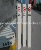 Venta caliente del precio de fábrica de la pila de las muestras de los canales de cable de FRP