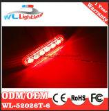 Supporto d'avvertimento ultra sottile Lighthead della superficie della griglia di 6 W