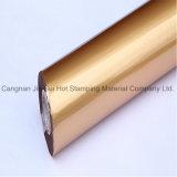 Sellado caliente de la hoja olográfica caliente de la lámina para gofrar en el cuero plástico de papel