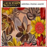 100% tessuto della tenda del velluto di stampa del tessuto lavorato a maglia poliestere (EDM0423)
