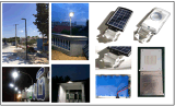 8W LED haute qualité lumière de sécurité solaire