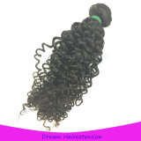 volle Verwicklung-freies kurzes malaysisches Jungfrau-Haar des Häutchen-100g