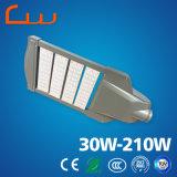 Carcaça de alumínio da luz de rua do diodo emissor de luz dos produtos novos 30-210W