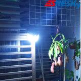 Luz solar de la pared de la terraza IP65 de la lámpara al aire libre LED del jardín para el hogar