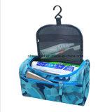 Kit de voyage étanches Organisateur Rangement salle de bains Sac cosmétique Mallette de transport Sac de Toilette avec crochet de suspension de multiples couleurs