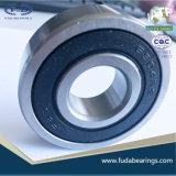 Cuscinetti profondi 2RS del cuscinetto a sfere della scanalatura dell'acciaio al cromo 6304 per il motore del motore