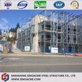 PU 샌드위치 위원회를 가진 전 설계된 강철 구조물 건물 또는 건축 또는 전람