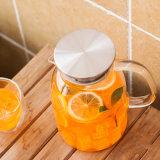 1.8L冷水の鍋のガラス水水差しの冷水の水差しのフルーツジュースの鍋かガラス冷たい醸造物のコーヒーメーカー