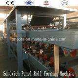 EPS E Máquina do Painel de Sanduíche de Lãs de Rocha para África (AF-S980)