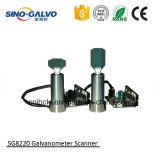 Galvo Sg8220 de la máquina de la marca del laser del CO2 para la industria de transformación de la joyería