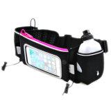 Sac de ceinture de course à l'hydratation avec une bouteille en PVC et une bouteille d'eau