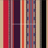 Streifen Pigment&Disperse des Kaffee-100%Polyester druckte Gewebe für Bettwäsche-Set