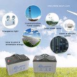 Batterie de gel 12V 100ah Deep Cycle AGM pour solaire et éolien et énergie renouvelable