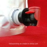 Kunststoffgehäuse-Kaffee-Beutel mit Reißverschluss und entgasenventil