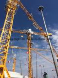 100%の新しい高性能Qtz63 (TC5012)のジブクレーン自己建設のタワークレーン