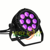 UV свет 9PCS*18W RGBWA+UV 6in1 СИД РАВЕНСТВА СИД для света этапа