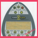 Shield / Flat / Embossed Pushpad Keypad Membrane Switch with LCD Window