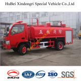6ton Euro3 Dongfeng 화재 물 트럭