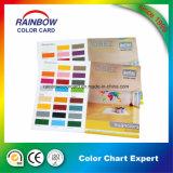 Cartão de carta de cores de revestimento de emulsão em lados duplos