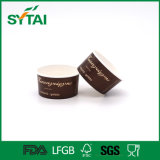 Tazón de fuente de papel disponible del precio bajo de la alta calidad hecho en tazón de fuente de ensalada impreso aduana del tazón de fuente del helado de China