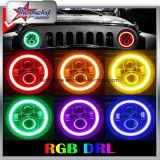 Linterna del RGB LED con el control de Bluetooth para el Wrangler del jeep