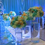 En acrylique transparent Vase pièce maîtresse de la tour de mariage