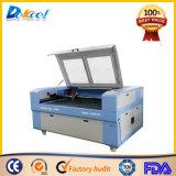 Gravura do laser do CO2 do CNC 150W e máquina de estaca para o MDF da madeira do aço inoxidável para a venda
