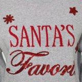 Presente do Natal da camisola de Ladeis no projeto do jacquard e na qualidade Handfeel macio do algodão