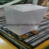 Feuille d'aluminium pour bande de verre