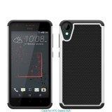 Caixa Shockproof forte do telefone móvel do projeto novo da grão do futebol para o desejo 825 de HTC
