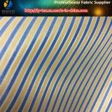 Tela teñida hilado de la raya de la guarnición para la ropa (S96.130)